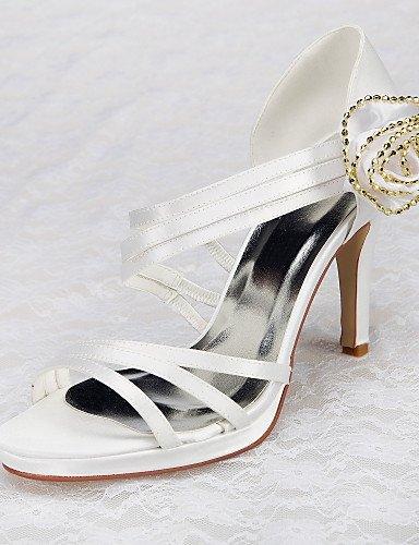 ShangYi Schuh Damen - Hochzeitsschuhe - Absätze / Plateau - Sandalen - Hochzeit / Kleid / Party & Festivität - Weiß 3in