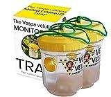 La trampa de monitoreo Vespa Velutina, Trampa de Avispas asiática 2 x trampas