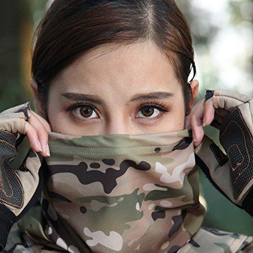 OneTigris Camo Schlauchtuch Gesichtsmaske (Camo)
