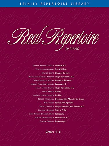 Real Repertoire for Piano: Book & CD (Trinity Repertoire Library Rea)