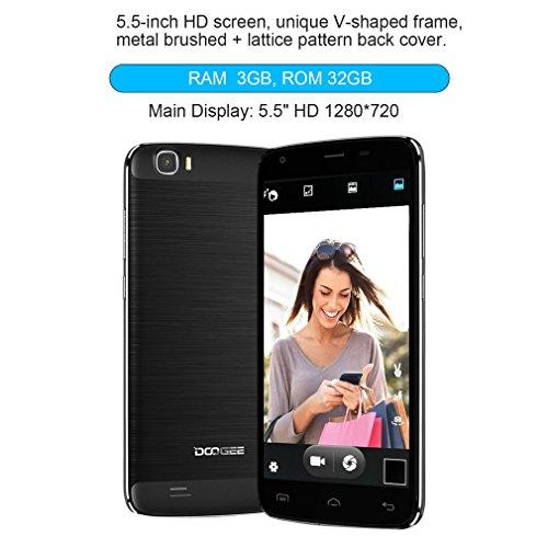 LESHP DOOGEE T6 Pro - Smartphone Android 6.0, 4G LTE Teléfono Móvil...