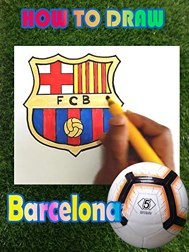 Learn how to draw the FC Barcelona logo in this step by step drawing tutorial. (English Edition)