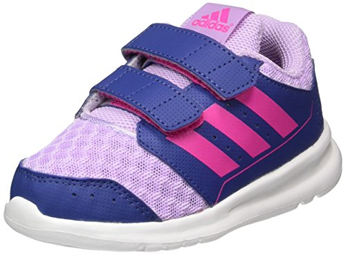 adidas Baby Mädchen LK Sport 2.0 CF Lauflernschuhe, Violett (Purple Glow/Shock Pink/Raw Purple), 27 EU