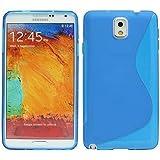 S-Line TPU SchutzHülle für Samsung Galaxy Note 3 N9005 Silikon Hülle Handy Cover Case in Blau @ Energmix
