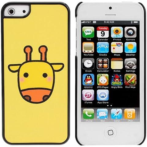Lindo Ganado vaca de dibujos animados helada del caso para el iPhone 5.