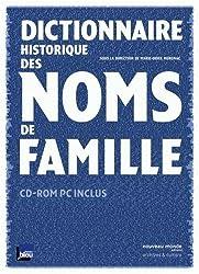 Dictionnaire historique des noms de famille (1Cédérom)