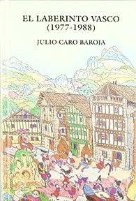Laberinto Vasco, el par  Julio Caro Baroja