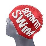 Bore NTO Swim Adolescents et Adultes Bonnet de Bain en Silicone Bonnet de Natation M...