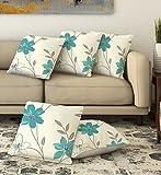 #4: La Verve Cotton Print Cushion Cover 16X16