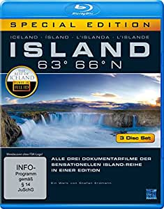 Island 63° 66° N - Eine phantastische Reise durch ein phantastisches Land [Blu-ray] [Special Edition]