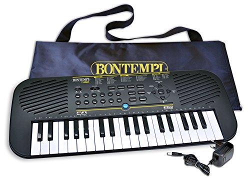 Bontempi tastiera 37 tasti, colore nero, 15 3785