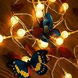 Luci Stringa Solares LED Fata Marocchine Luci Della Stringa 5m 25LED Palla Bolla di Cristallo Per Il Natale Di Nozze Del Festone Del Partit