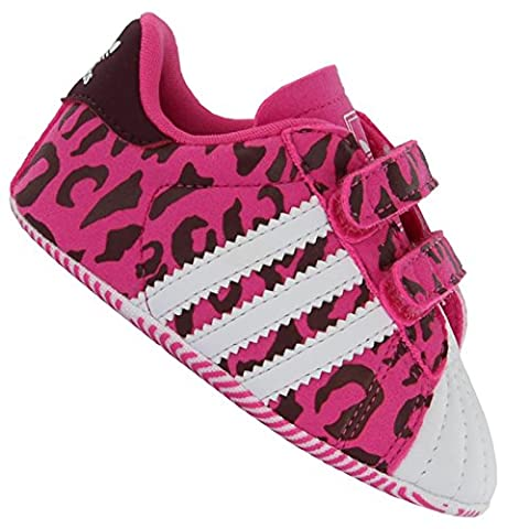 Adidas Originals Superstar 2 Krippe, Baskets Mode Unisex Kinder, Pink - Rose (Rose/Ftwbla/Lidevi) - Größe: 18