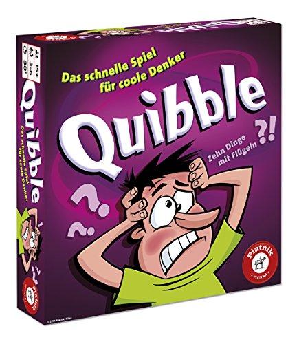 Piatnik Quibble Niños y Adultos Party Board Game - Juego de Tablero (Party Board Game, Niños y Adultos, Niño/niña, 15 año(s), 165 Pieza(s), AAA)