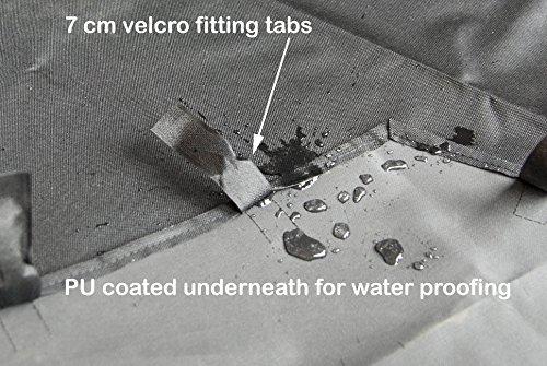 Speedwellstar Mat for 8 Side X Large Pet Pen Run Base Liner Mat Heavy Duty Waterproof Black Universal - Cage NOT… 6