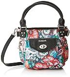 Desigual Bols_yandi Mcbee Mini, Women's Bag, Türkis (Turquesa), 12.5x23.5x23 cm (B...