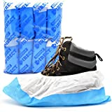 80 x Heavy Duty Overshoes - Blue / White - Choice Of Quantity - Long Lasting Reusable Overshoes From the Simply Direct Brand. (80)