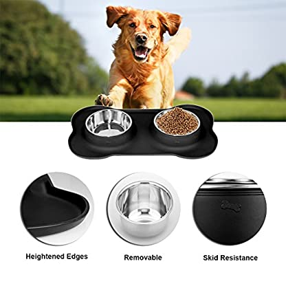 Dreamiracle Dog Bowls 3