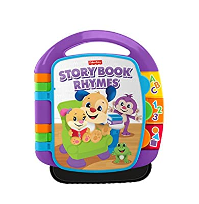 Fisher-Price Laugh and Learn Storybook Rhymes Book Age 6 months to 3 Years