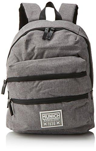 Munich 650016, Mochila Unisex Adultos, Gris (Grey), 18x40x33 cm (W x H x L)