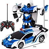 Alexsixs Transformation Car Robot, Transformation Car Toy, Electronic Remote Control RC Vehicles,Robot Car,RC Car Racing Cars, Kid Toy, Gesture Sensing And One Button Transformation