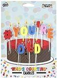 npw Geburtstag Kuchen Kerzen–Hashtag # sind Sie Alt Kuchen Dekoration Celebration Nation