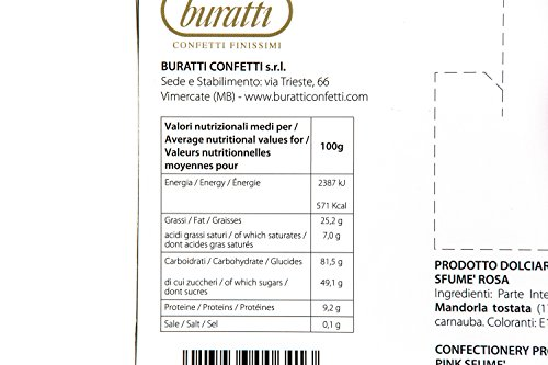 Zoom IMG-1 buratti confetti con mandorle tostate