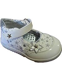 Chaussures d'été blanches pour bébés filles