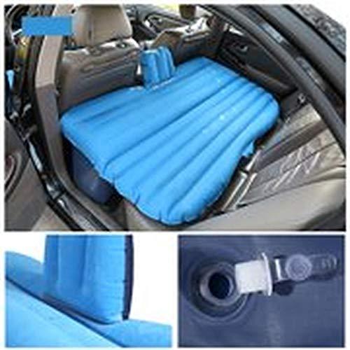 Aufblasbare Auto Travel Matratze Luftbett Kissen Camping Universal mit zwei Luftkissen Deep Blue