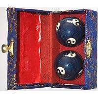 Quigong Klangkugeln - Ying Yang blau preisvergleich bei billige-tabletten.eu