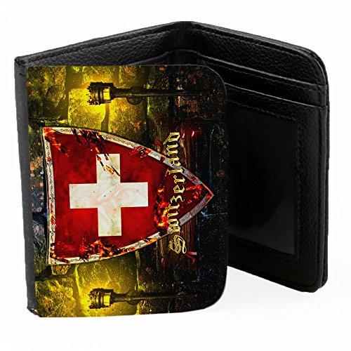 blason-suisse-noir-pu-portefeuille-ripper-portefeuille-wallet-avec-fentes-pour-cartes-de-crdit-et-ar