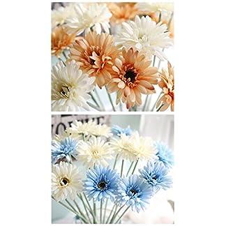 DANMEI un Ramo de Girasol Simulación Flor Gerbera exporta hogar Decorativo Flores Artificiales Plantas de Simulación