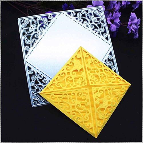 Nuovi arrivi medium B Metallo da taglio speciale timbro modello goffratura stencil per DIY scrapbooking album Paper card Craft decorazione di Leedy Acciaio al carbonio