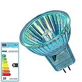 Osram Halogenlampe 44890 WFL, 20 W, 12 V, GU4 10 x 1