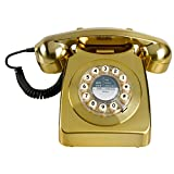 Wild and Wolf Retro 746 Telephone | Brass