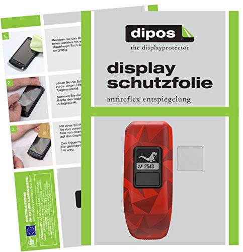 dipos I 6X Schutzfolie matt passend für Garmin Vivofit Junior 2 Folie Displayschutzfolie