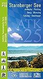 ATK25-P10 Starnberger See (Amtliche Topographische Karte 1:25000): Andechs, Pöcking, Berg, Münsing, Tutzing, Seeshaupt (ATK25 Amtliche Topographische Karte 1:25000 Bayern) - Landesamt für Digitalisierung  Breitband und Vermessung  Bayern