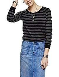 Scotch & Soda Maison Pullover with Buttons At Shoulder, Pull Femme