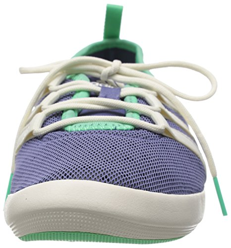 adidas Climacool Boat Sleek, Chaussures de Voile Femme, Mehrfarbig, 4.5 UK Violet - Purple (Super Purple S16/Chalk White/Green Glow S16)