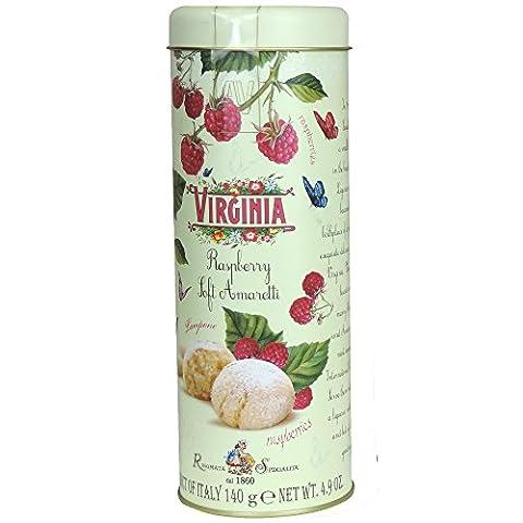 Amaretti Virginia - Raspberry Soft Amaretti - 140g
