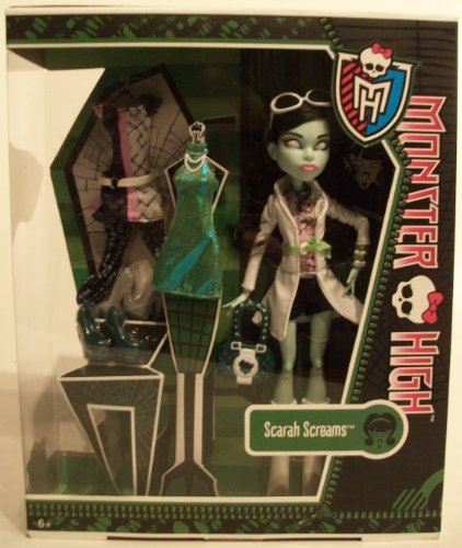 Screams Tochter der Geisterfrau mit Fashion Set - 3 Outfits inklusive / Mattel 2013 (Monster High Outfit)