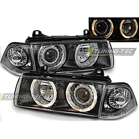 Top Set fari Lampade lpbm35 BMW E36 12.1990 – 08.1999 Angel Eyes