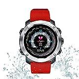 Tlgf Smartwatch, Bluetooth Smart Watch Impermeable Fitness Tracker Reloj con Monitor De Ritmo Cardíaco SMS Notificación De Llamada Cámara Remota Música,Red