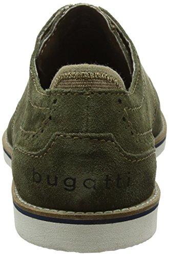 Bugatti Herren 311451041400 Derbys Grün (Dark Green)