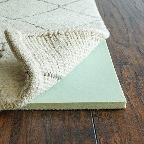 Rug Pad USA Cloud Comfort Teppich Pad luxuriöser Rückstellschaum, Dicke: 1,27 cm (1/2 Zoll) 5' x 8' grün - 8 Teppich-pad, X 5