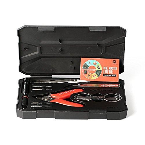 Coil Master DIY Kit Mini V2. Das beliebte Wickelset jetzt in der Version 2. Noch kompakter, noch durchdachter