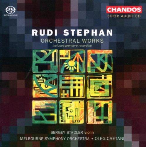 Stephan: Orchesterwerke