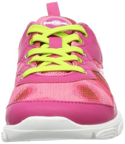 Desigual SNEAKER ACTIVE, Sneaker donna Rosso (Rot (FRESA ACID 3089))