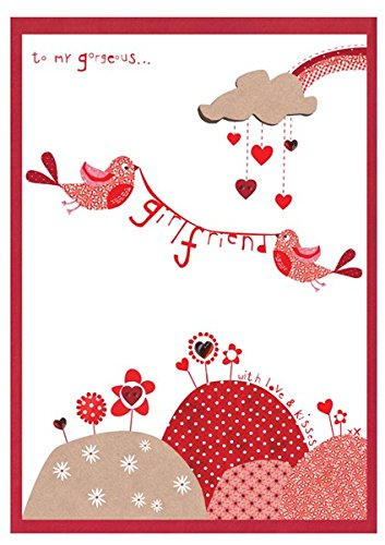 To My Gorgeous Girlfriend With Love & Kisses Valentines for sale  Delivered anywhere in Ireland
