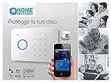 NUOVO Home Defender IDATA AF-HDG005 Kit antifurto Wireless Bidireziona |le con combinatore GSM